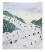 Ski Vening Fleece Blanket