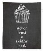 Skinny Cook Fleece Blanket