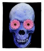 Skull Art - Day Of The Dead 1 Fleece Blanket