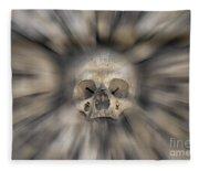 Skull - Fear And Trembling  Fleece Blanket