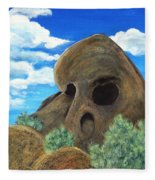 Skull Rock Fleece Blanket