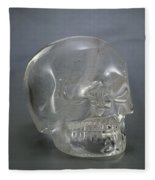 Skull Rock Crystal Fleece Blanket