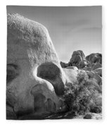 Skull Rock Fleece Blanket