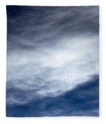Sky Clouds Fleece Blanket