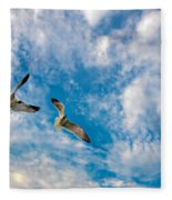 Sky Dance Fleece Blanket