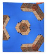 Sky Fortress Progression 6 Fleece Blanket