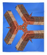 Sky Fortress Progression 8 Fleece Blanket