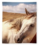 Sky Horse  Fleece Blanket