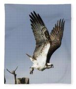 Sky Hunter Fleece Blanket