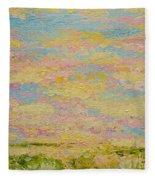 Sky Light Fleece Blanket