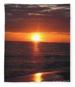 Sky On Fire I Fleece Blanket