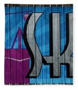 Sky Ride Panorama Fleece Blanket