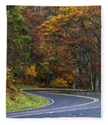 Skyline Drive Fleece Blanket