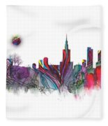 Skyline Warsaw Fleece Blanket
