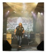 Skynyrd-group-7063 Fleece Blanket