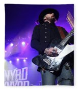 Skynyrd-johnnycult-7915 Fleece Blanket
