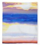 Skyscape Fleece Blanket