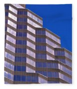 Skyscraper Photography - Downtown - By Sharon Cummings Fleece Blanket