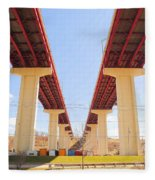 Skyway Highway Fleece Blanket