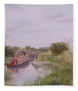 Slapton Lock Fleece Blanket