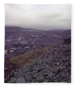 The Industrial Landscape Fleece Blanket