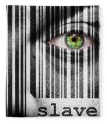Slave Fleece Blanket
