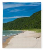 Sleeping Bear Dunes National Lakeshore Fleece Blanket