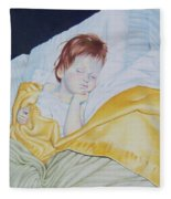 Sleeping Beauty Fleece Blanket