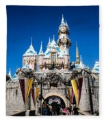 Sleeping Beauty's Castle Fleece Blanket