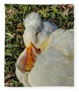 Sleeping Duck Fleece Blanket