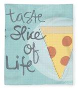 Slice Of Life Fleece Blanket
