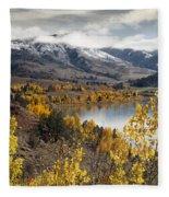 Slide Lake Fleece Blanket