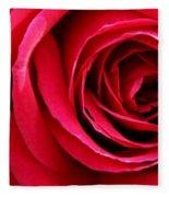 Slimline Red Fleece Blanket