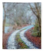 Slippery Travels Fleece Blanket
