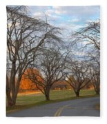 Sloan Park Sunset Fleece Blanket