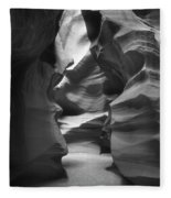 Slot Canyon 2 Fleece Blanket