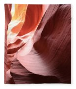 Slot Canyon Color Blend Fleece Blanket