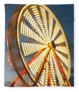 Slow Down The Ferris Wheel Fleece Blanket