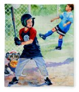 Slugger And Kicker Fleece Blanket