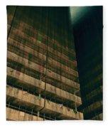 Slums Of Metropolis Fleece Blanket