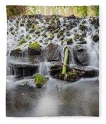 Small Cascade In Marlay Park Fleece Blanket