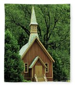 Small Chapel  Fleece Blanket