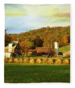 Small Farm Fleece Blanket