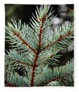 Small Pine Fleece Blanket