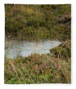 Small Pond Fleece Blanket