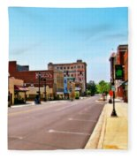 Small Town Fleece Blanket