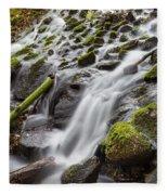 Small Waterfalls In Marlay Park Fleece Blanket