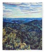 Smartview Blue Ridge Parkway Fleece Blanket