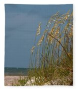 Smell The Salt Air Fleece Blanket