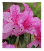 Smiling Azalea  Fleece Blanket